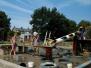 Een zomerdag in de speeltuin